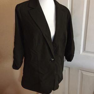 Torrid black blazer